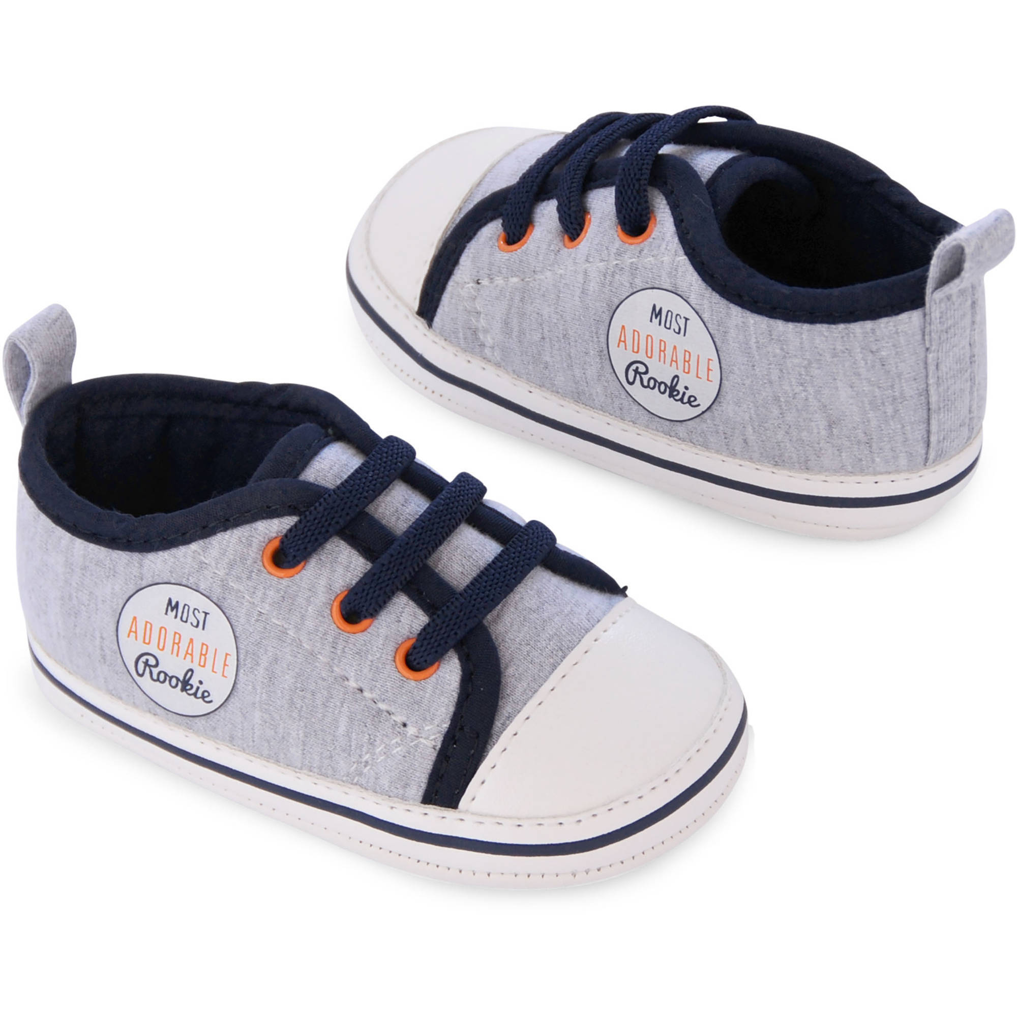 Child of Mine by Carter's Newborn Baby Boy Faux Lace-up Sneaker Shoes
