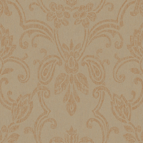 York Wallcoverings Heritage Home Romantic 33' x 20.5'' Damask Distressed Wallpaper