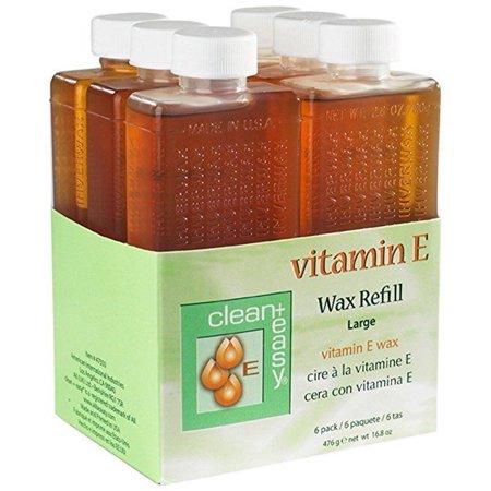 Small Wax Refill (Clean+Easy Refill Wax Vitamin E Roller Wax 6pc/pk)