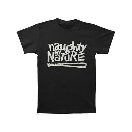 Og Logo T-shirt - Naughty By Nature Men's  Naughty OG Logo T-shirt Black