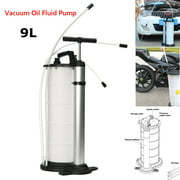 Grtsunsea 9L Vacuum Oil Fluid Suction Extractor Changer Manual Fuel Petrol Pump Tank