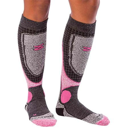 Zensah Ski Socks Wool Kids Comfort Ski Socks