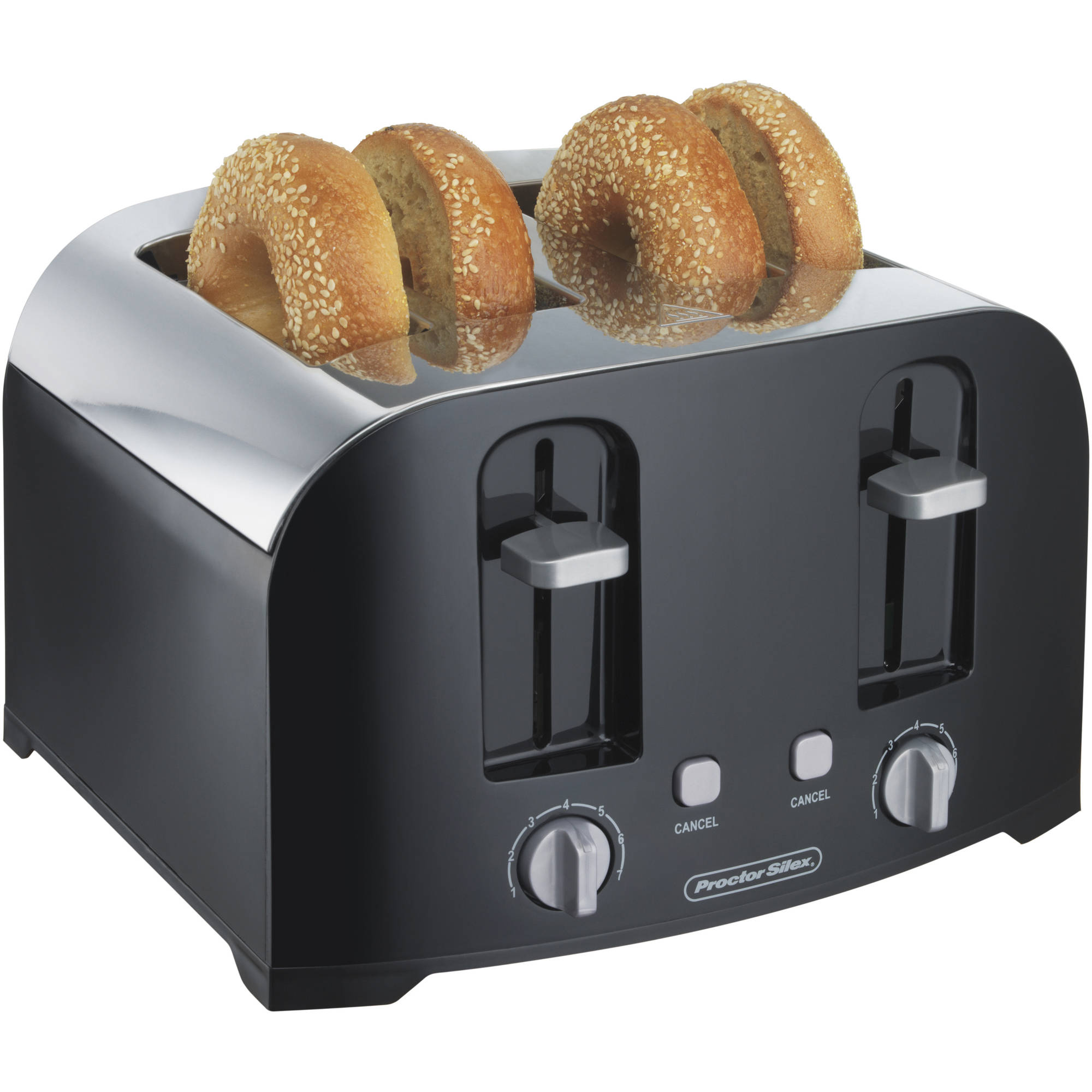 Proctor Silex 4 Slice Toaster With Auto Shutoff | Model# 24622