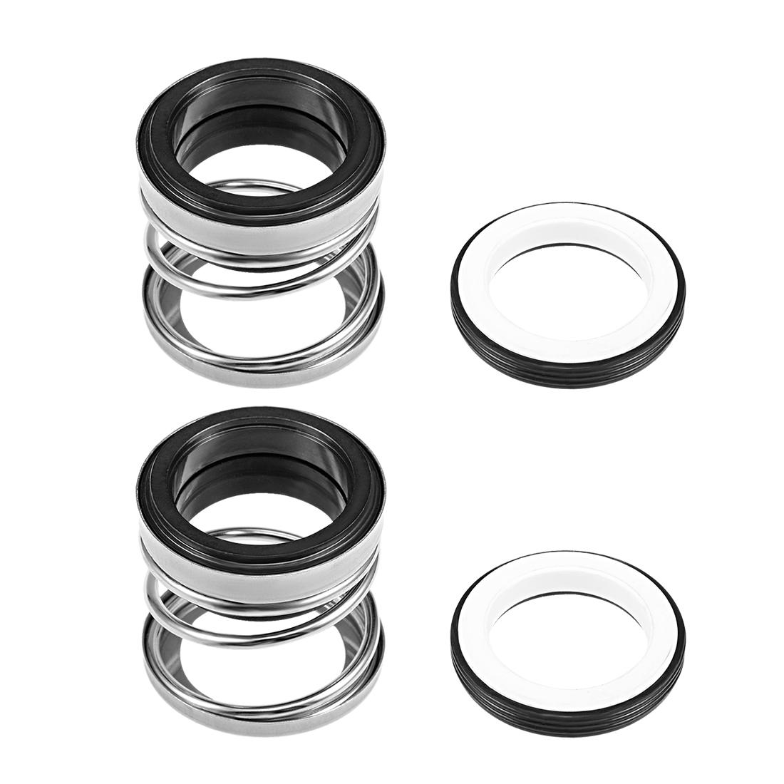 Mechanical Shaft Seal Replacement for Pool Spa Pump 2pcs 108-30 - image 4 de 4