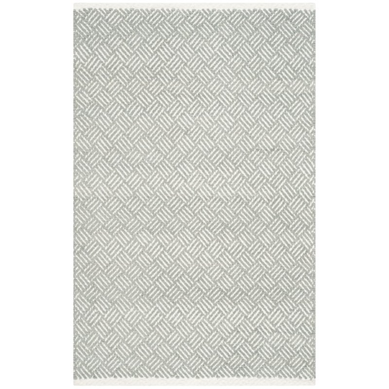 Safavieh Boston 6' X 9' Hand Woven Cotton Pile Rug in Gray - image 9 of 9
