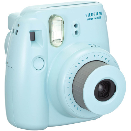 FujiFilm Blue 16273439 Instax Mini 8 Camera