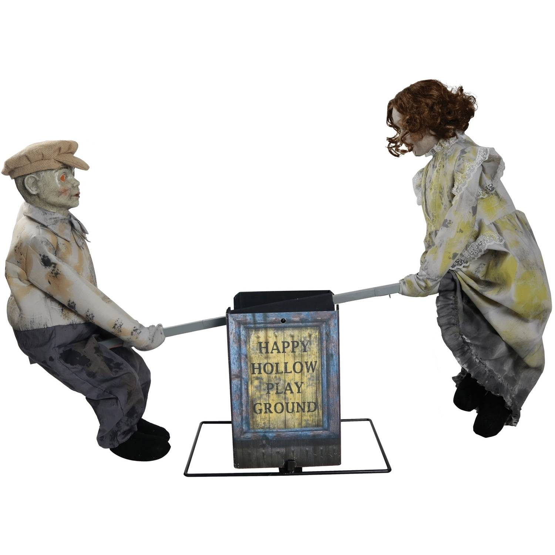 see saw dolls playground halloween decoration