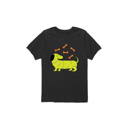 Dog Frankenstein (Frankenstein Dog  - Toddler Short Sleeve)