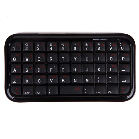 HDE Bluetooth 3.0 Keyboard Mini Travel Size Wireless Pocket Keypad for Sony Playstation PS4/Tablet/Smartphones ()