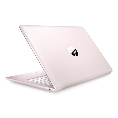 HP Stream Laptop 14-ds0080nr, AMD Dual-Core A4-9120e, 4GB DDR4, 64GB eMMC, AMD Radeon R3 Graphics, Windows 10 Home in S mode, Rose Pink and Champagne Pink