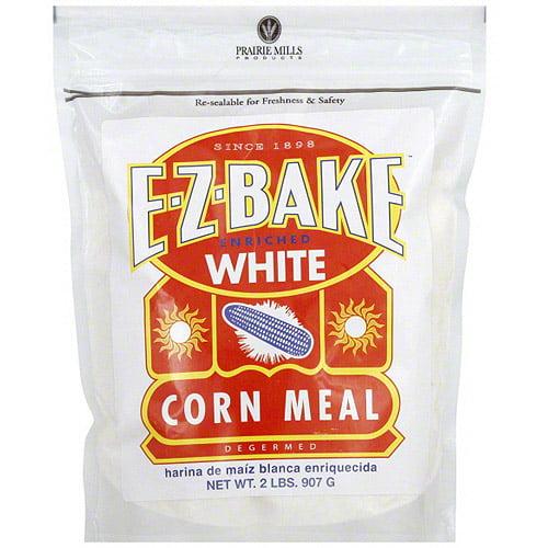 E-Z-Bake White Corn Meal, 2 lb (Pack of 6)