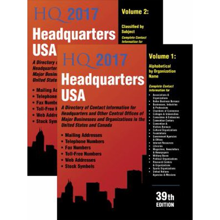 Headquarters Usa 2017