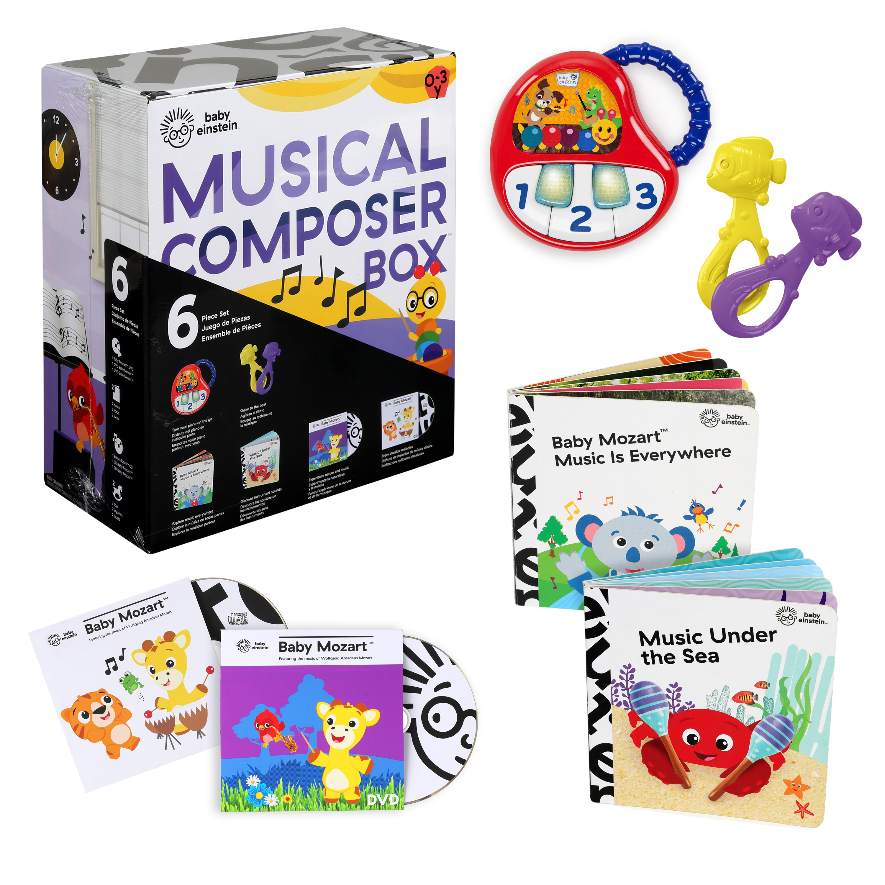 Musical Composer Box