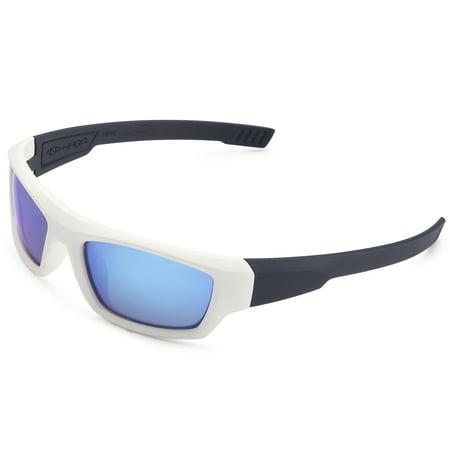 0cad775352 NAGA Sports Youth Teenager UV400 Polarized Sunglasses for Baseball ...