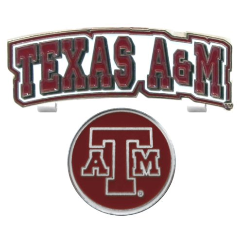 Texas A&M Aggies Hat Clip & Golf Ball Marker, Never Lose Your Golf Ball Marker Again! By... by