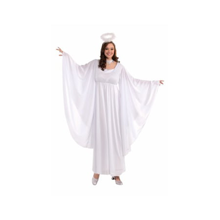 Heavenly Angel Plus Costume Plus - Plus Size Dark Angel Costume