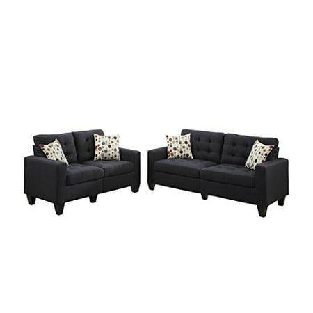 Strange Bobkona Windsor Linen Like Polyfabric 2 Piece Sofa And Beatyapartments Chair Design Images Beatyapartmentscom