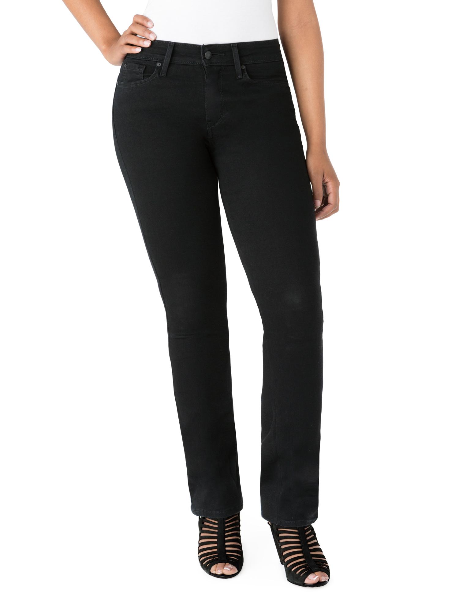 Women's Curvy Straight Jean