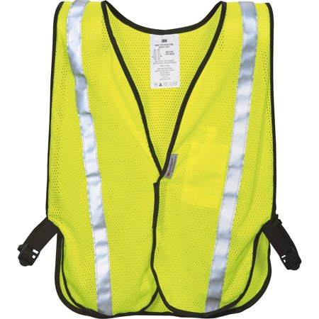 - Reflective Yellow Safety Vest