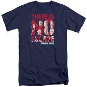 Criminal Minds No Escape Mens Big and Tall Shirt