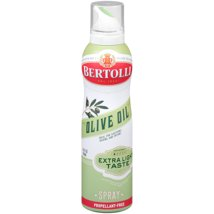 Cooking Spray: Bertolli Extra Light Olive Oil