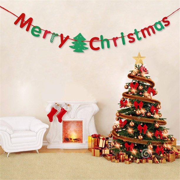 merry christmas bunting banner flags garland tree wall hanging decor walmart com walmart com merry christmas bunting banner flags garland tree wall hanging decor