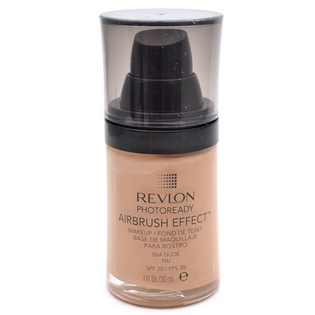 Effects Makeup - Revlon PhotoReady Airbrush Effect Makeup SPF20 004 Nude 1 Fl Oz.