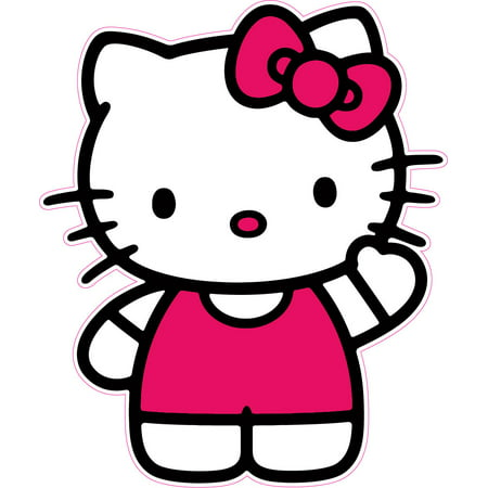 Hello Kitty Version 1 Decal Free Shipping in the United States. ()