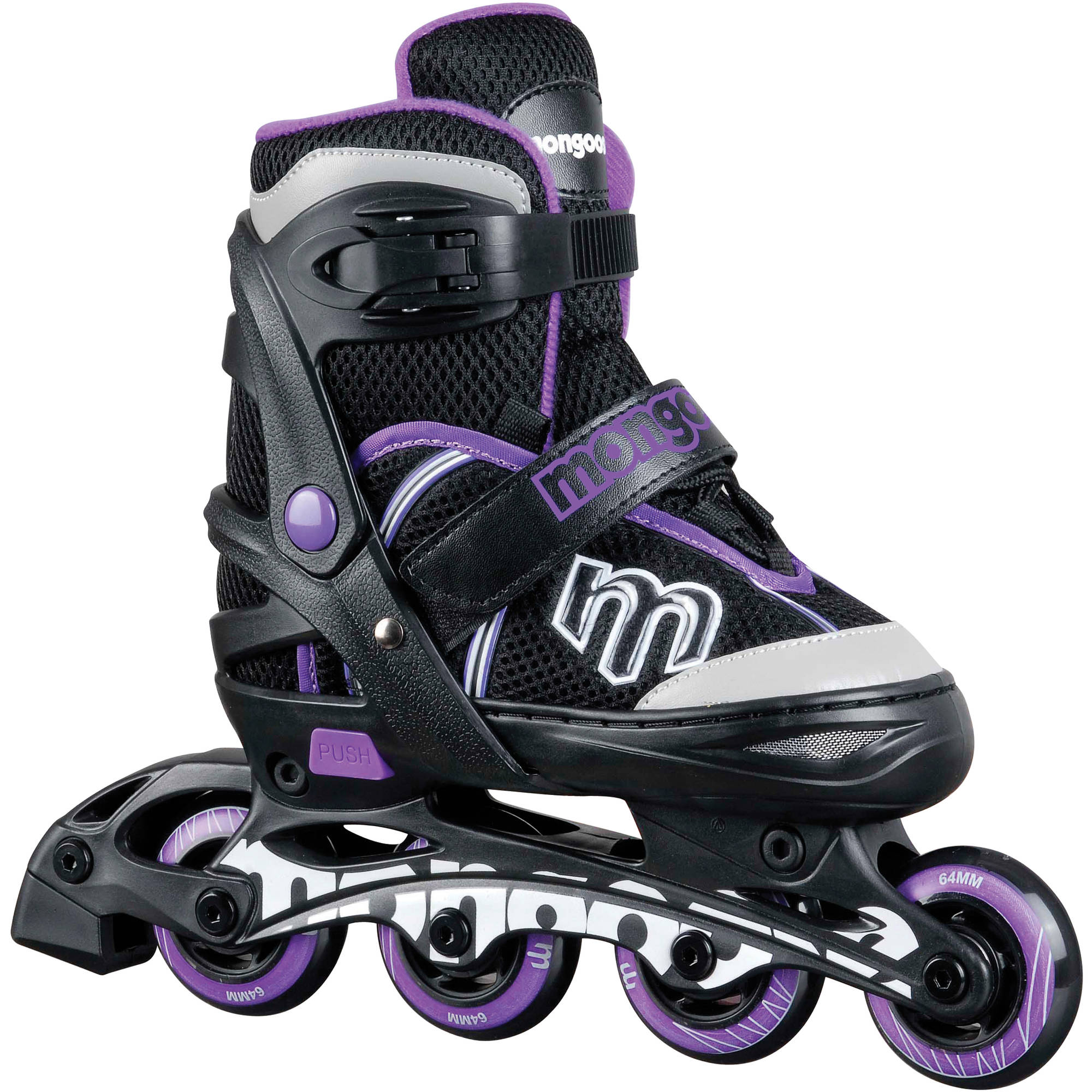 Mongoose Girls' Inline Skate, Small by