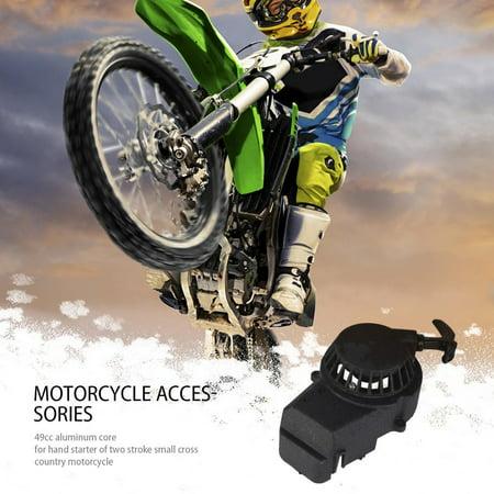 2 Stroke Pull Starter Start for Mini Dirt Bike 49cc Pocket Bike ATV Black