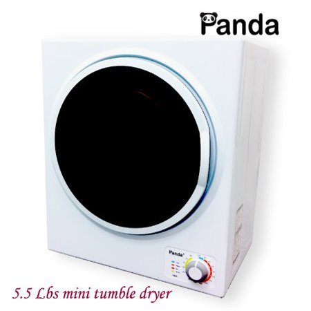 Panda Small Mini Compact Dryer 110V Stainless Steel Drum 1.50cu.ft