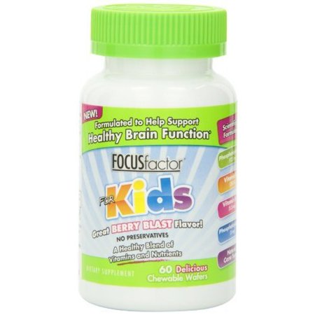 Focus Factor® Kids Dietary Supplement Chewables 60 ct Bottle