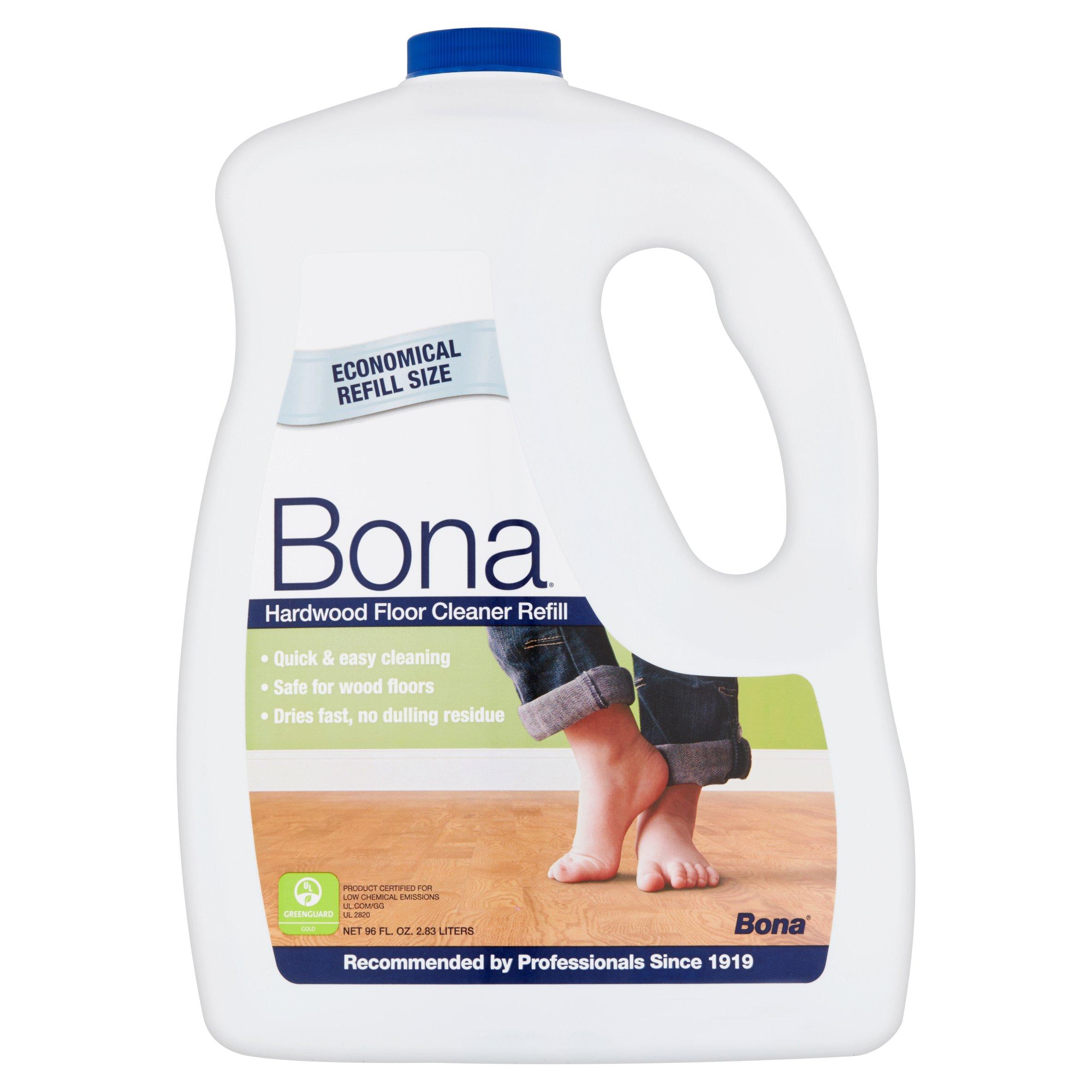 Bona Hardwood Floor Cleaner Refill 96 fl oz Walmartcom