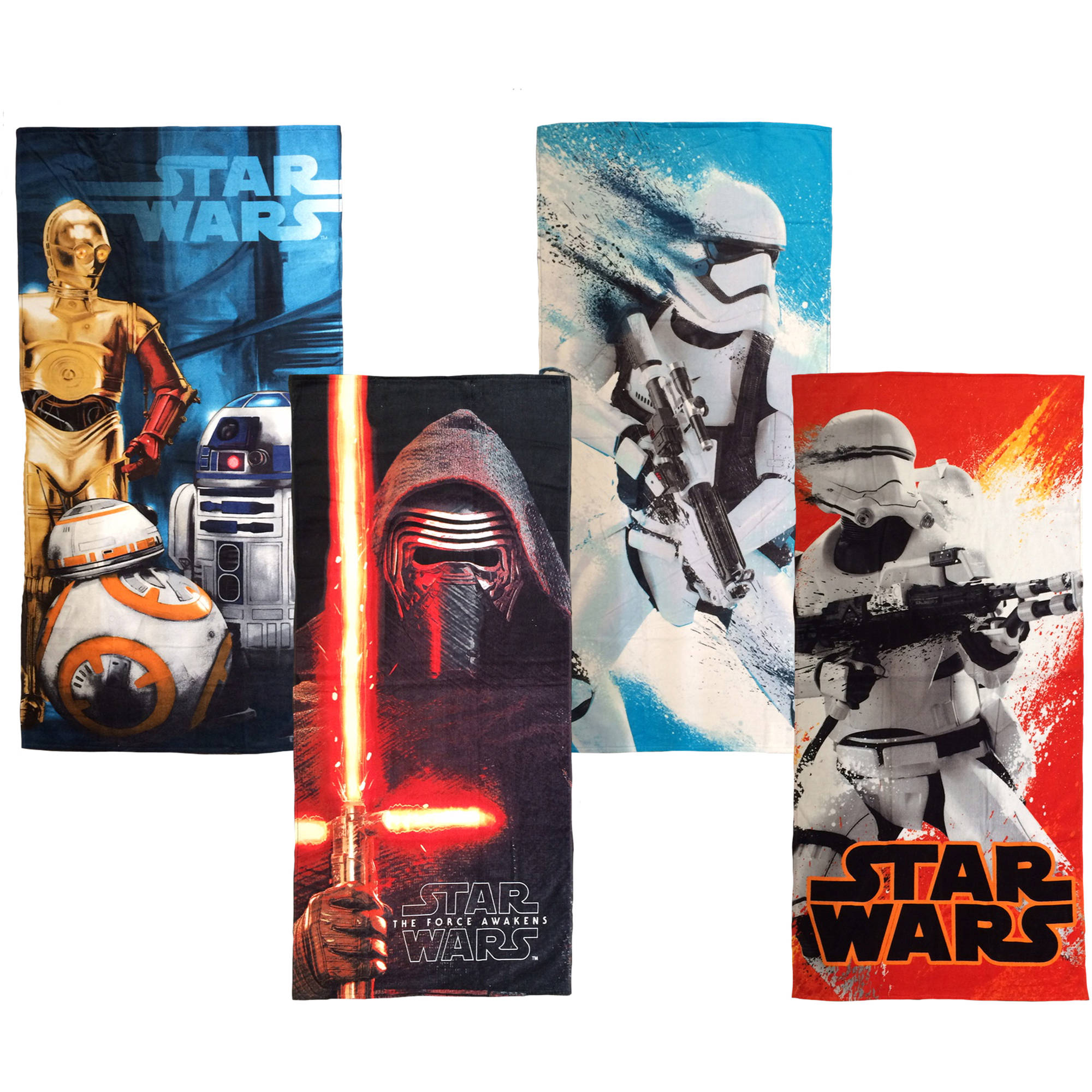 Star Wars Episode VII Beach Towel