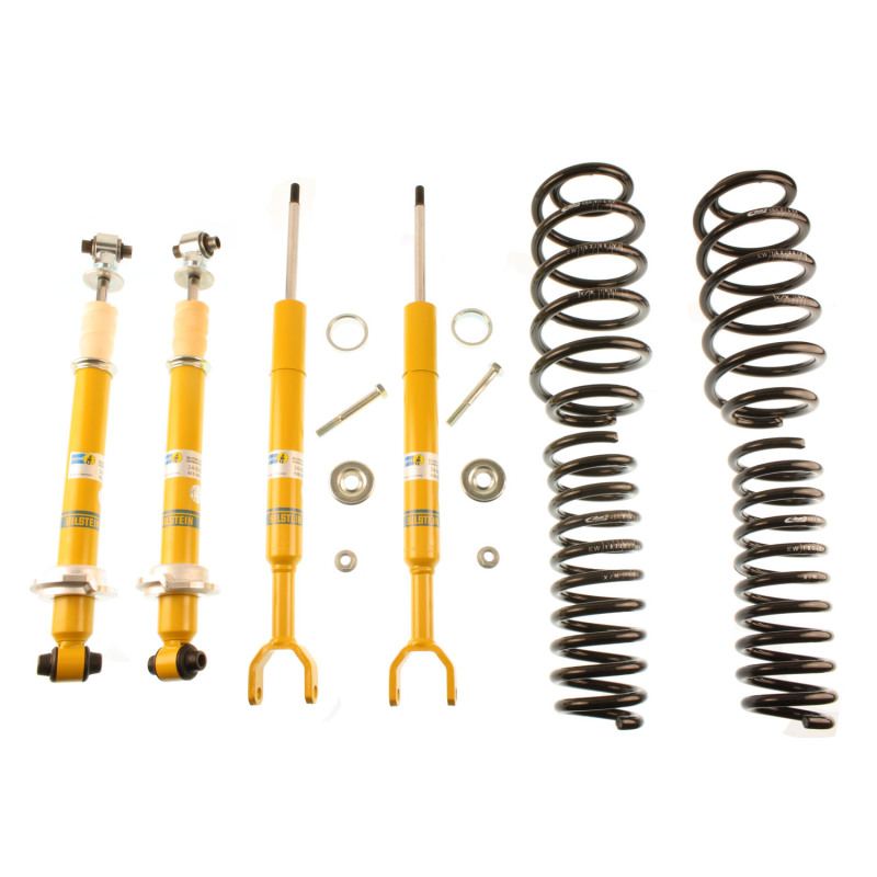 Bilstein B12 1997 Audi A4 Quattro Base Front and Rear Complete Suspension Kit