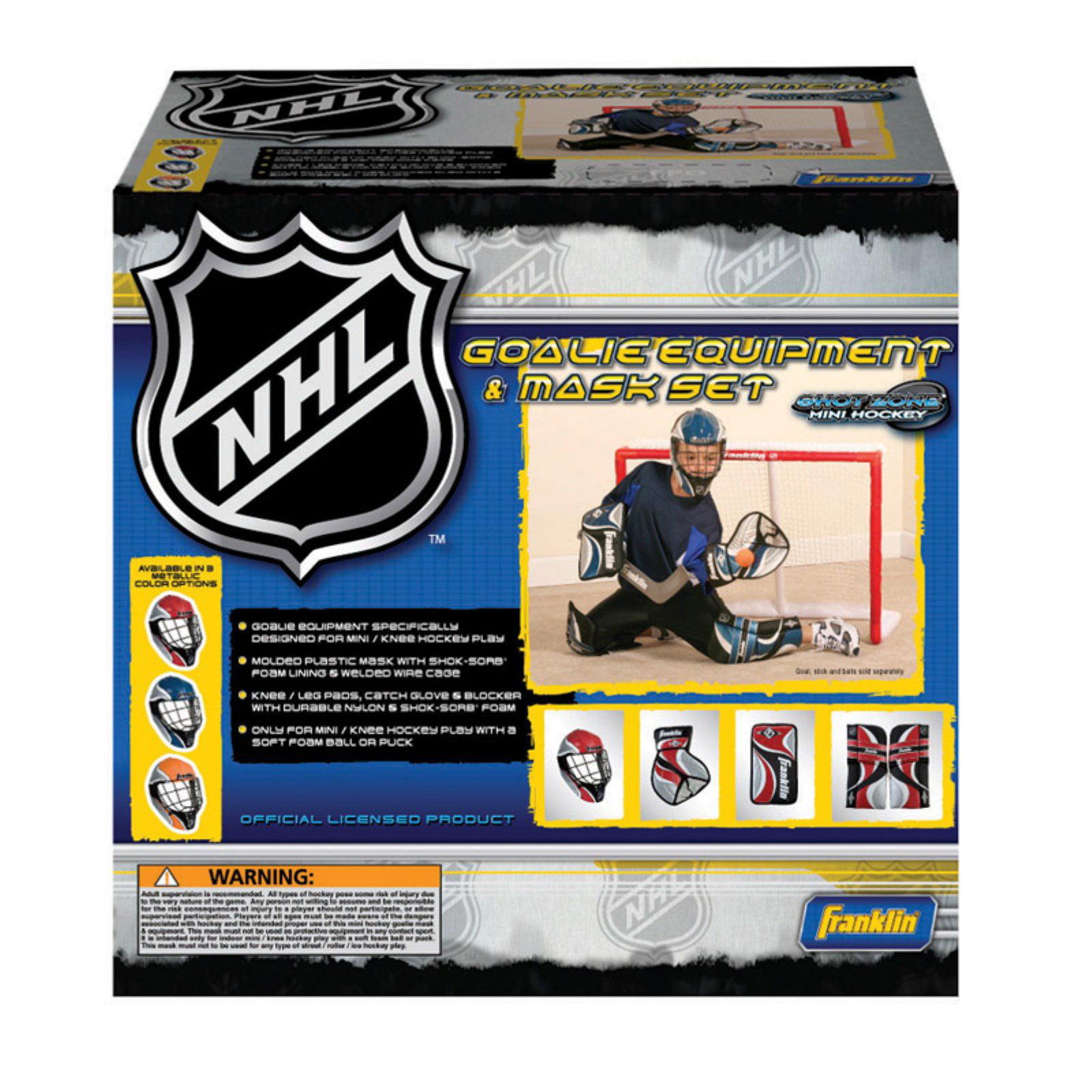 Franklin Sports NHL Mini Hockey Goalie Set by Franklin Sports