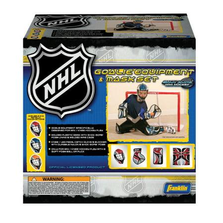Franklin Sports NHL Mini Hockey Goalie Set