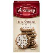Archway Classic Soft Iced Oatmeal Cookies, 9.25 Ounce - Iced Cookies Halloween