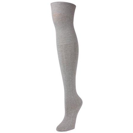 ed364b1a25a MeMoi - MeMoi Girls Grey Knee High Socks