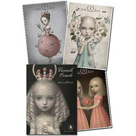 Party Games Accessories Halloween Séance Tarot Cards Ceccoli Oracle by Nicoletta Ceccoli - Happy Halloween Ecards