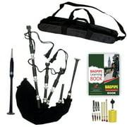 Highland Bagpipe Black Velvet Carry Bag Starter Package
