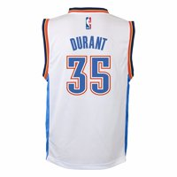 Product Image Kevin Durant Oklahoma City Thunder NBA Adidas White Official  Home Replica Basketball Jersey For Toddler 5999ed4c4