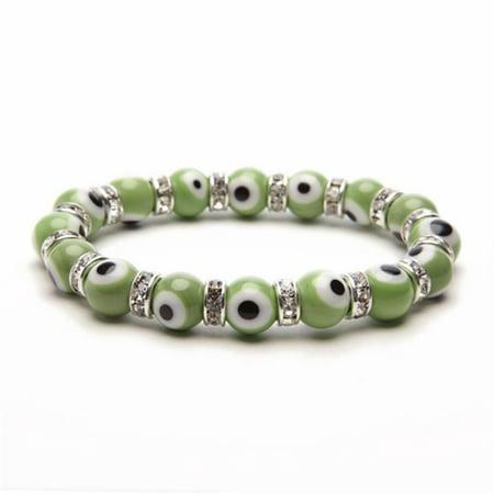 Evil Eye Gorgeous Glass Bracelets - Green