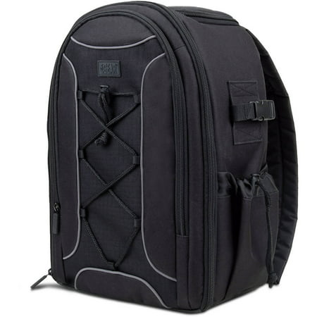 Usa Gear S16 Slr Camera Backpack With Velcro Storage