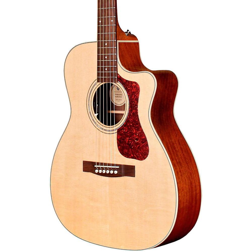 Guild OM-140CE Acoustic-Electric Guitar Natural