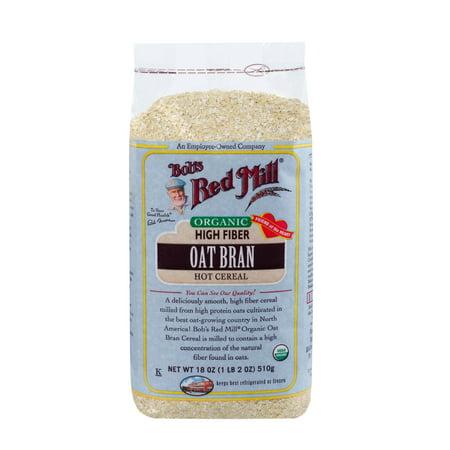 Bob's Red Mill Organic Hot Cereal, Oat Bran, 18 (Concord Mills Com)
