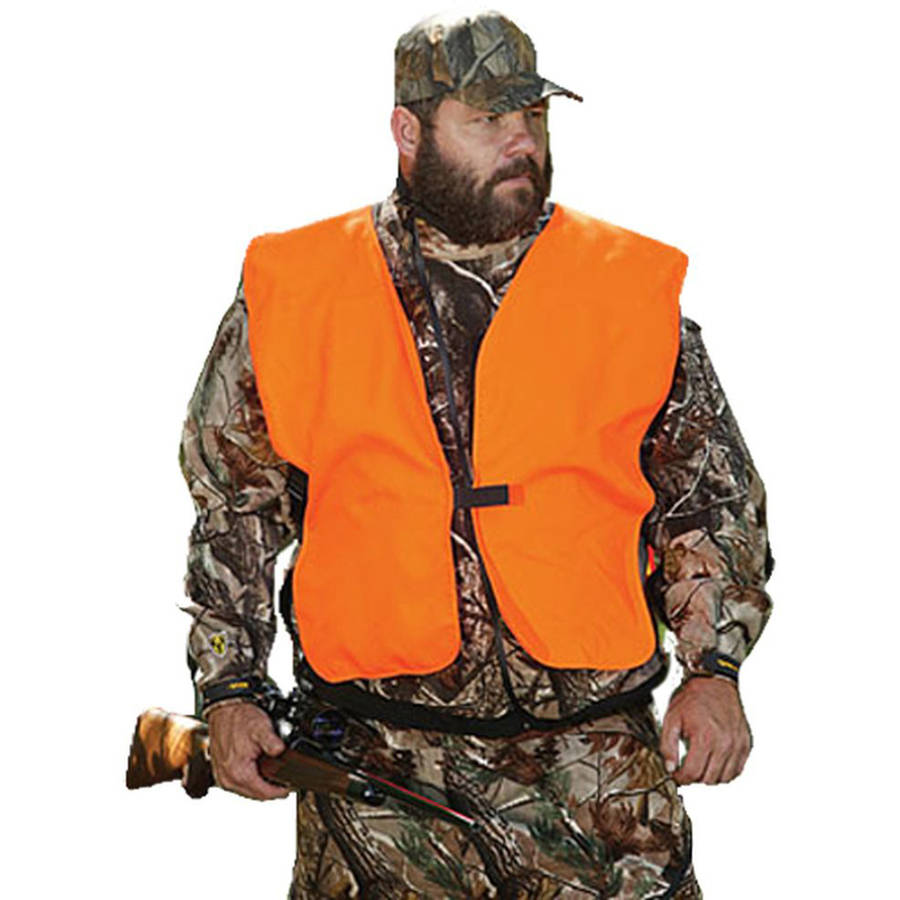 Allen Youth Hunting Vest, Orange, Big Man Acrylic