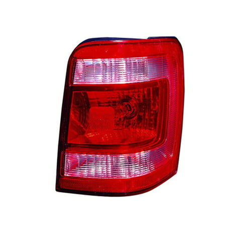 New Aftermarket Passenger Side Rear Tail Lamp Lens and Housing -
