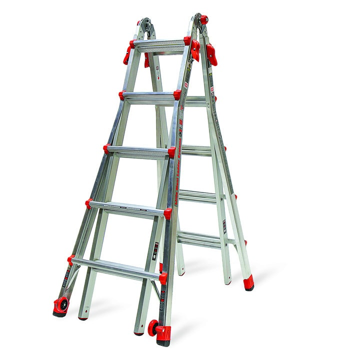Little Giant Velocity, Model 22 - Type IA - 300 lbs rated, aluminum articulating ladder