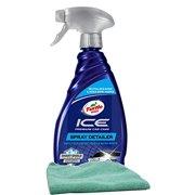 Turtle Wax Ice Premium Care Spray Detailer (20 oz.), Bundled with a Microfiber Cloth (2 Items)